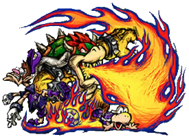 Bowser Strikers Poster by DryBowzillaJP