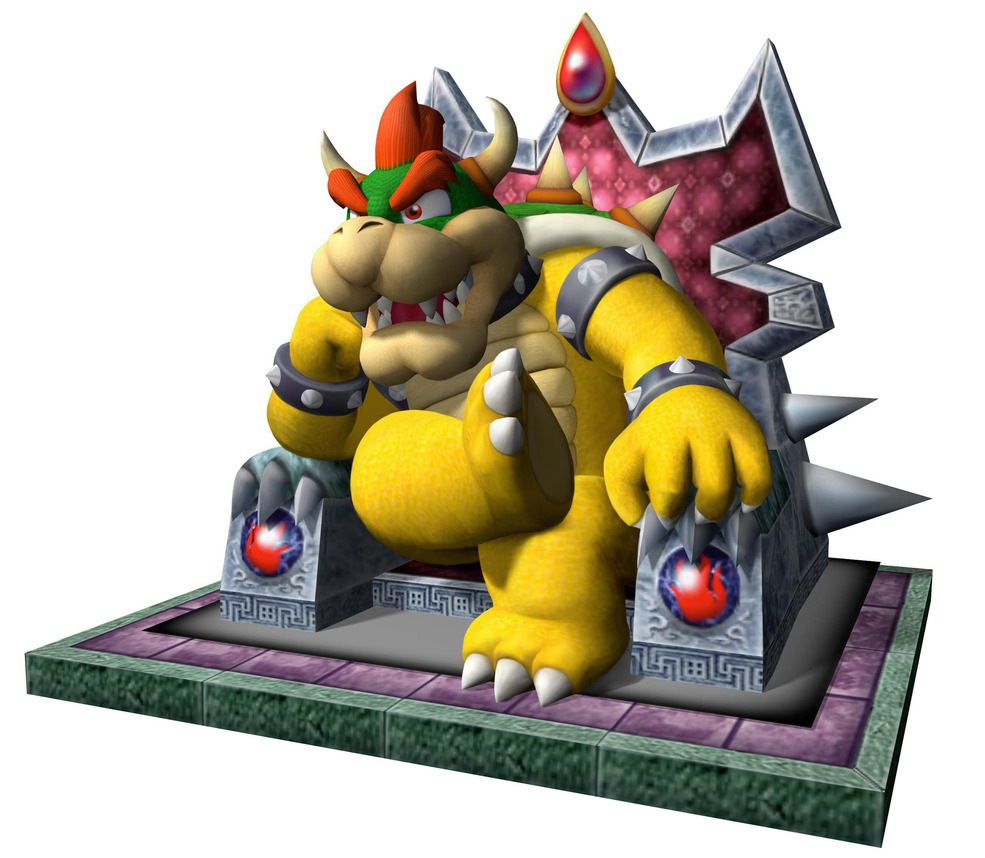 Bowser King Of The Koopas Mario Party 4 Poster By
