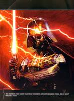 Darth-Vader's Skull Poster by DryBowzillaJP