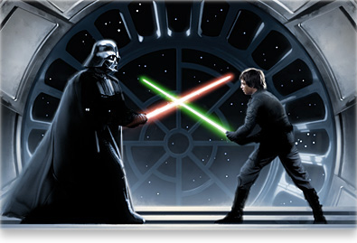 Darth Vader Vs Luke Skywalker Wallpaper by DryBowzillaJP ...