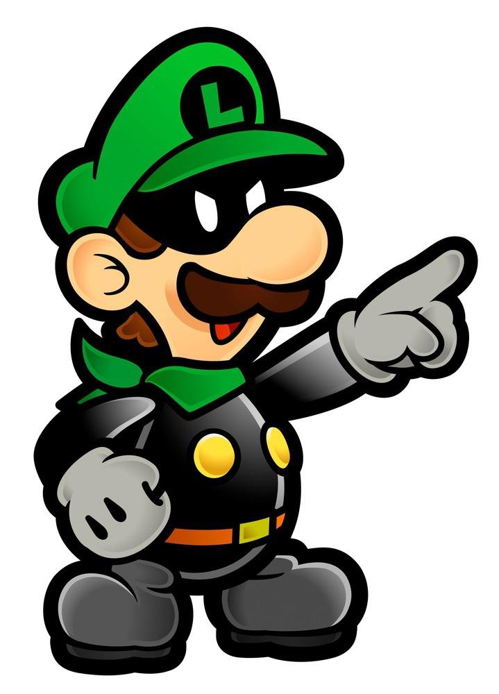 Paper Mario Evil Luigi Www Imgkid Com The Image Kid