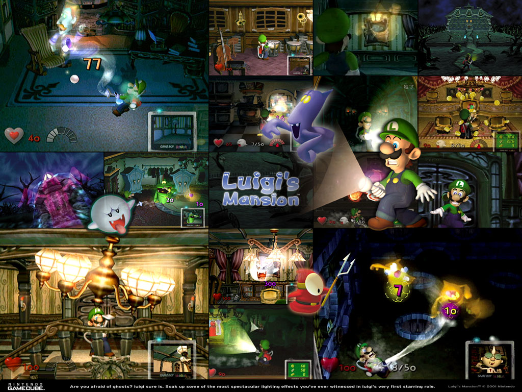 Luigis Mansion Wallpaper By DryBowzillaJP