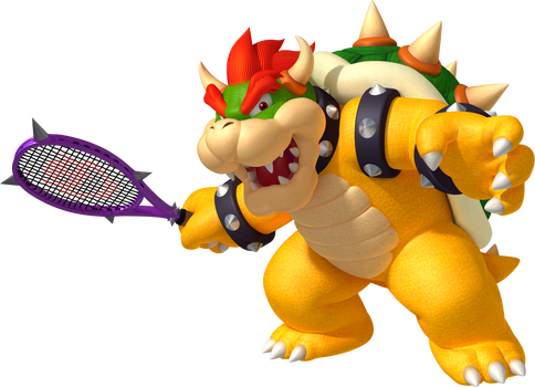 Bowser Tennis Open Poster and Wallpaper