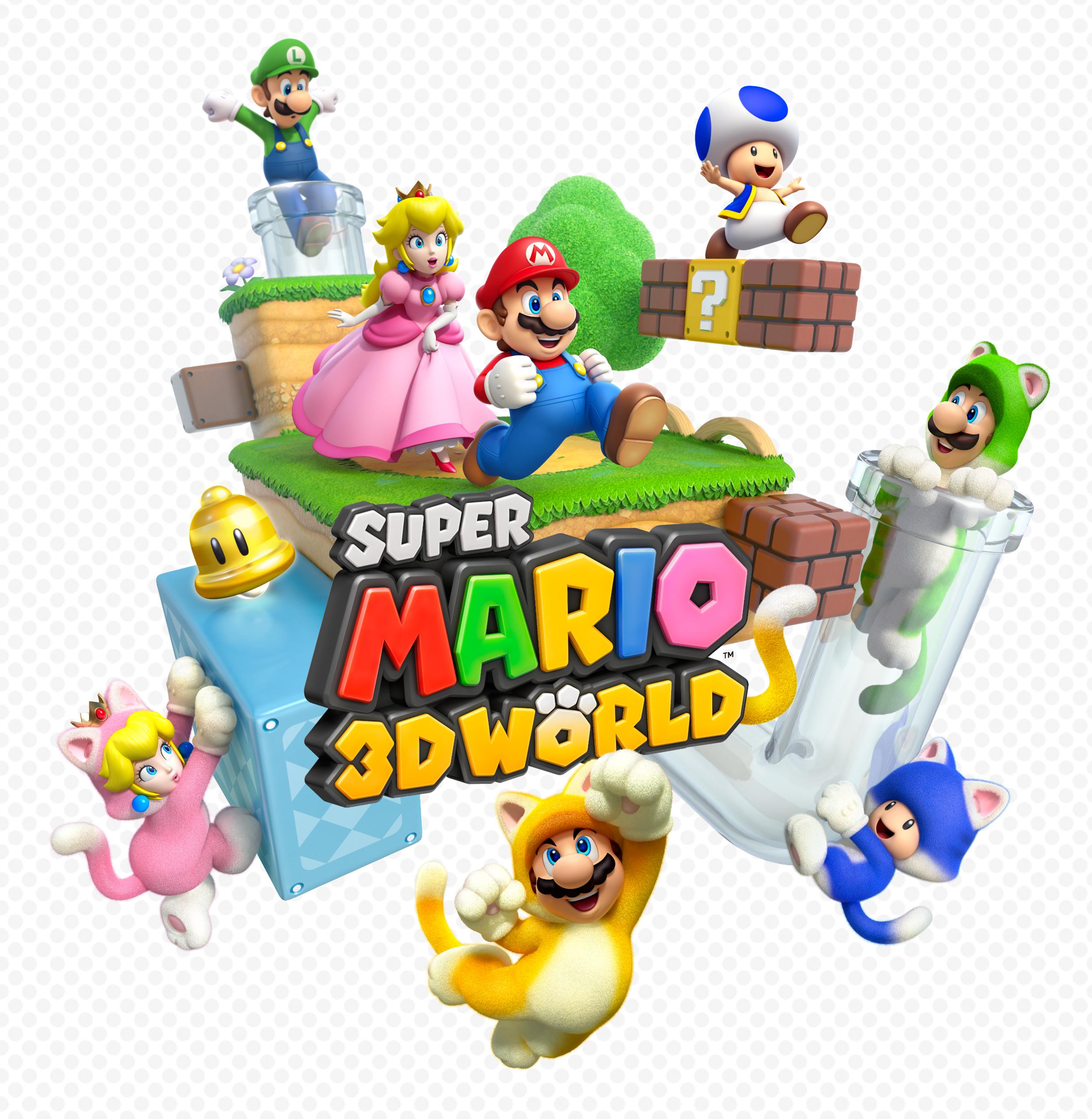 Super Mario 3d World Artwork