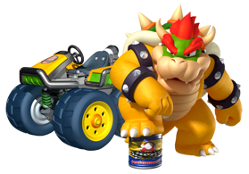Bowser Kart 7 Wallpaper 2 by DryBowzillaJP