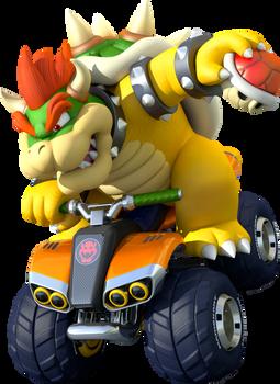 Bowser Kart 8 Poster (Mario Kart 8)