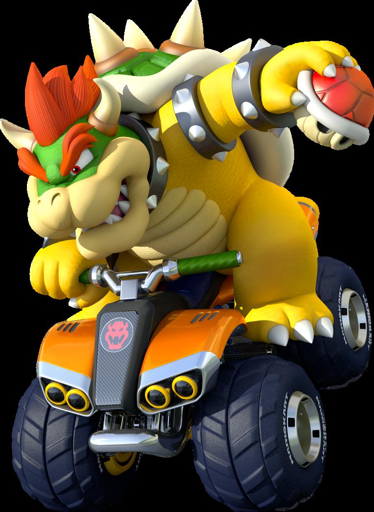 Bowser Kart 8 Poster (Mario Kart - 948.0KB