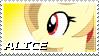 Alice Stamp by NovellaMLP