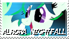 Aurora Nightfall Stamp by NovellaMLP