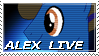 Alex Live Stamp by NovellaMLP
