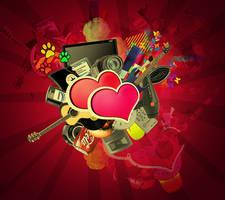 Crazzy Heart by NightDV