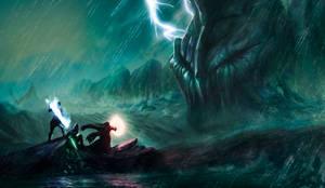 Adventurers fulfill the order(Ocean ver.)