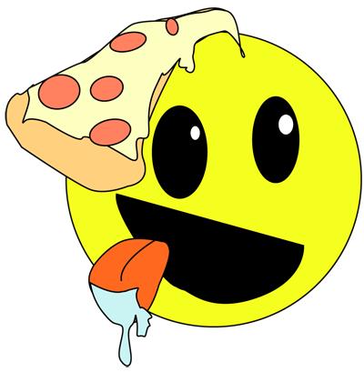 pizza smiley logo by kord82 on deviantart. Black Bedroom Furniture Sets. Home Design Ideas