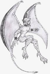 Laza as a Gargoyle by Galax