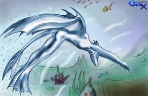 Underwater Gargoyles by Galax