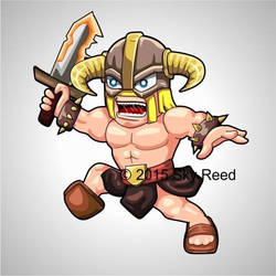 Clash of Clans - Barbarian Chibi