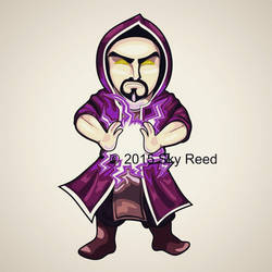 Clash of Clans - Wizard Chibi