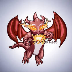 Clash of Clans - Dragon Chibi