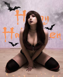 I'll be your Halloween witch by Aifosia