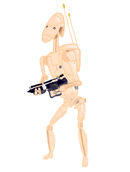 B1 Battle Droid by 13lackout