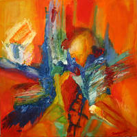 abstract no 1 by Timi-O