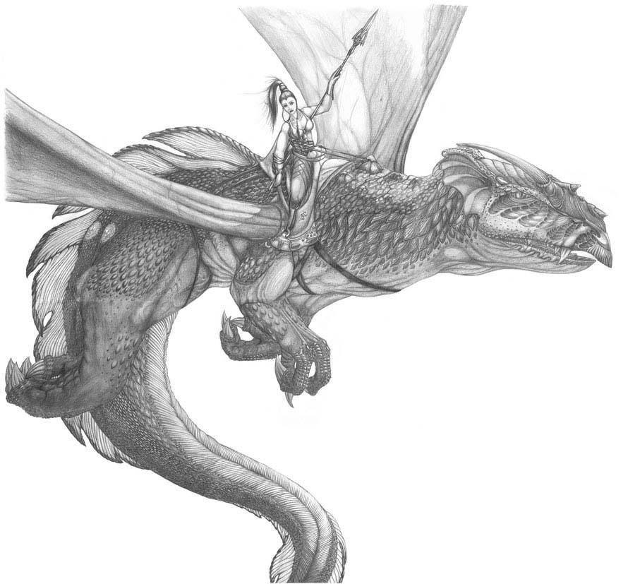 Dragon by SolvayDrake