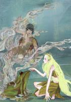 Princess and the Frog by kathemo