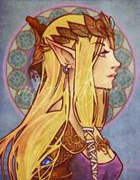Anime Nouveau - Zelda by kathemo