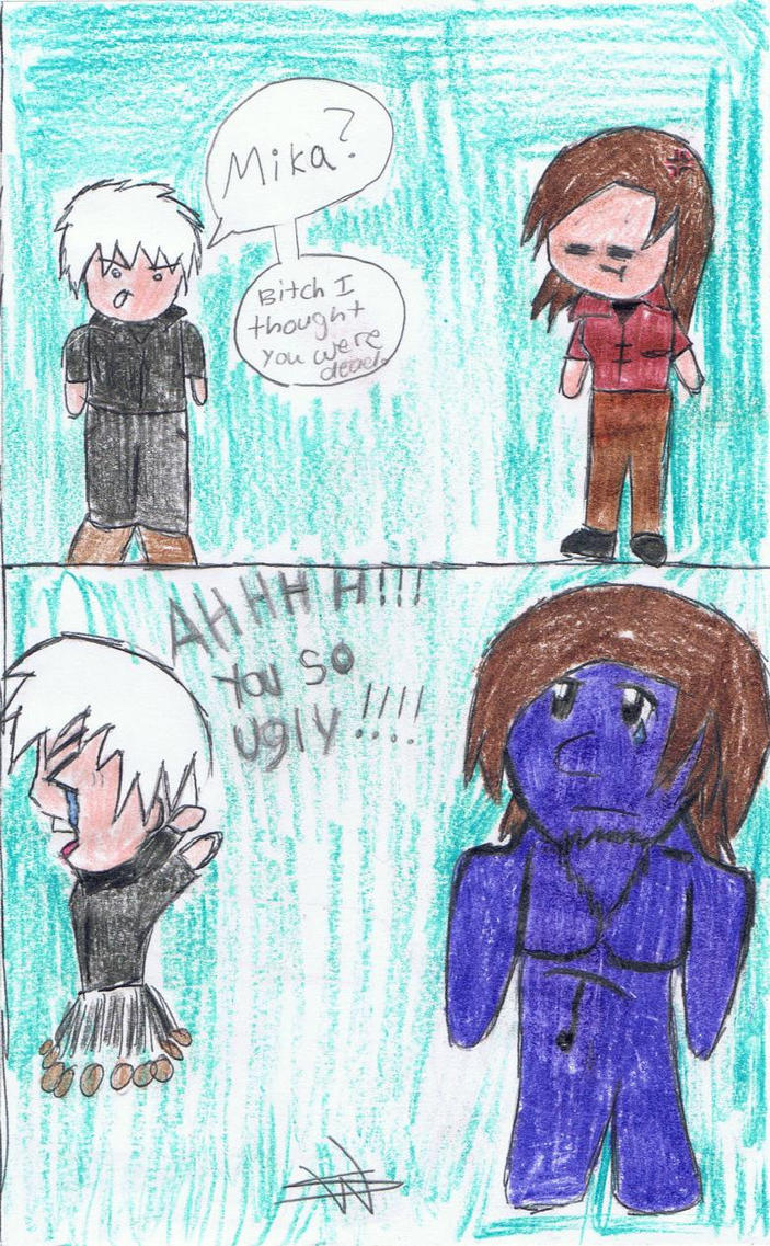 PewDie Fan Art~ Ao Oni by PuppyBroAustin