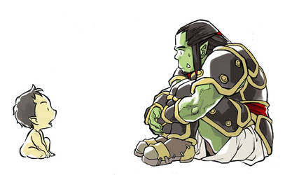 Thrall y ... by methos789