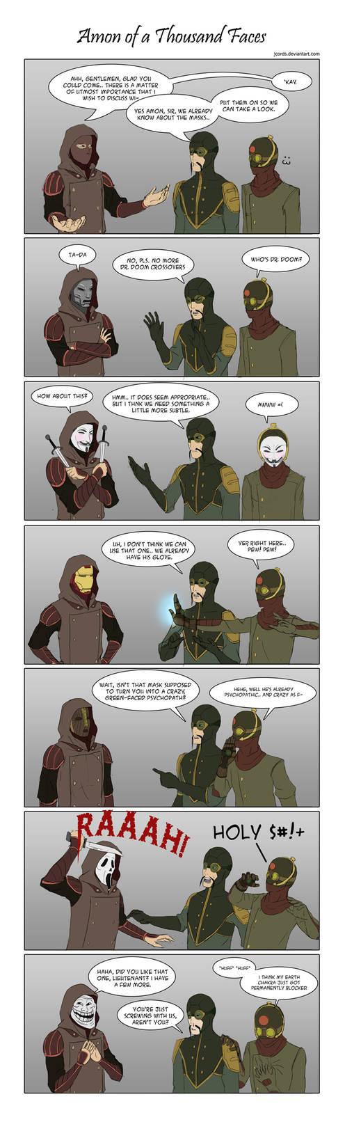 AMONymous Comics