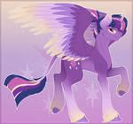Twilight Sparkle Redesign (+SPEEDPAINT)