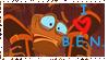 B.E.N. Stamp by EarthGwee