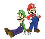Those Two Italian Plumbers