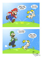 Catch 'Dem Rabbits! by EarthGwee