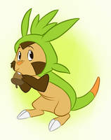 Chespin by EarthGwee