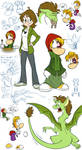 Gwee Meets Rayman doodle page - The Sequel