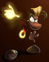 ROTD - Rayman's Power by EarthGwee