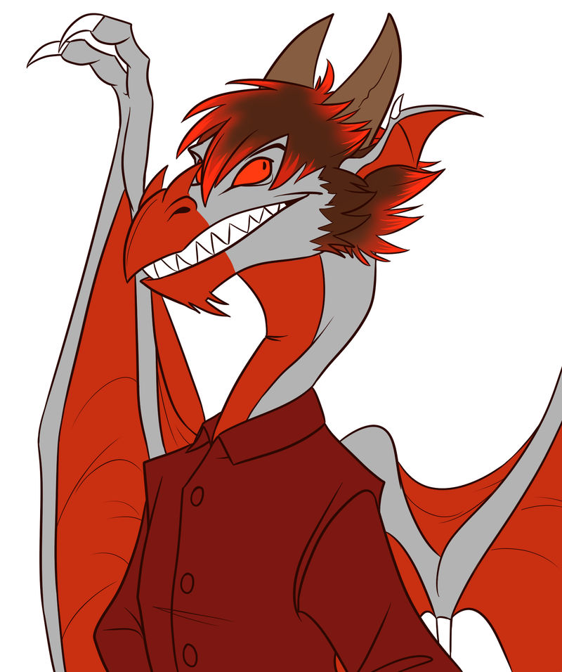 Commission - Scafe the Dragon