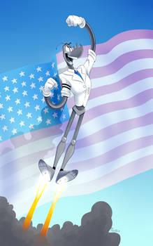 Art Trade - Rocket Man