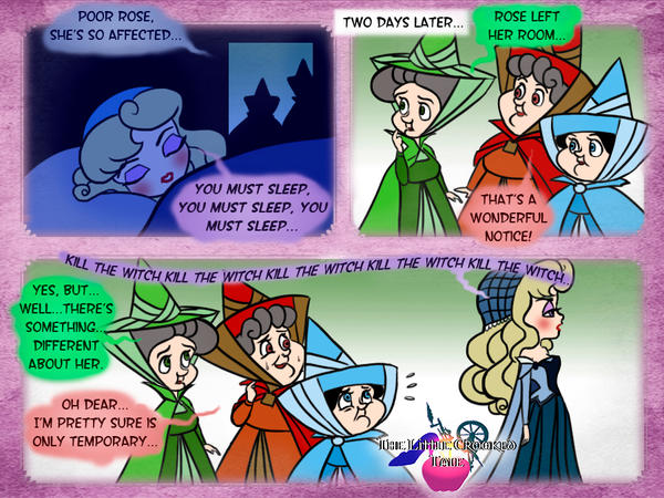 The Little Crooked Tale Comic Strip 5 by forgotten-ladies
