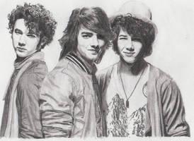 Jonas Brothers by MeikeZane