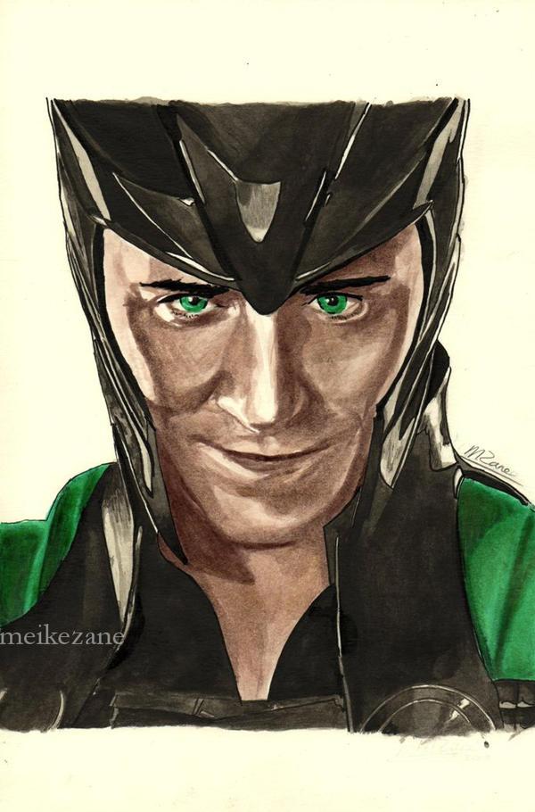 Loki by MeikeZane