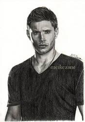 Jensen Ackles - Dean Winchester by MeikeZane