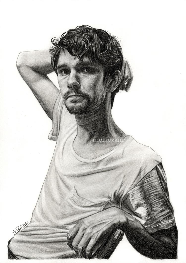 Ben Whishaw by MeikeZane