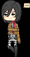 Mikasa by Dayeer-kun