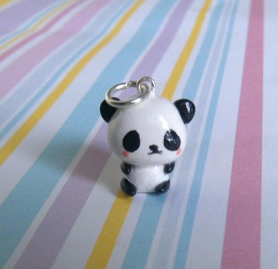 Kawaii Panda Charm by Fimochu