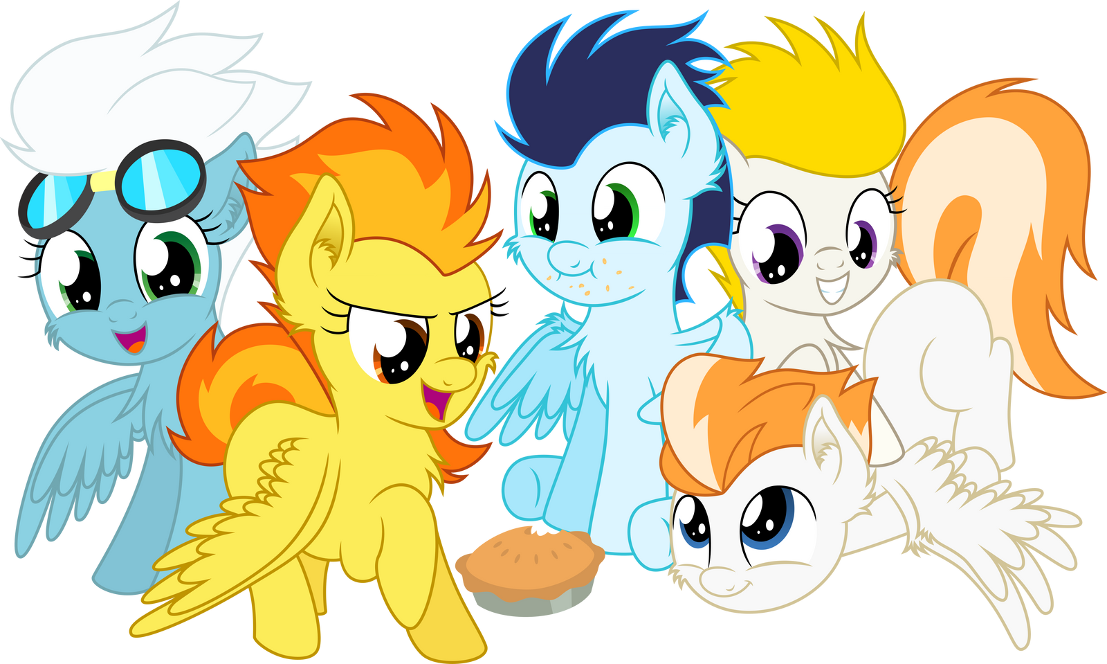 [Collab] Filly Wonderbolts