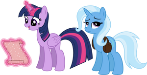 Twi and Trixie in the journey