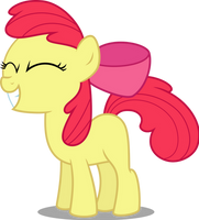 Smilling Apple Bloom by MacTavish1996